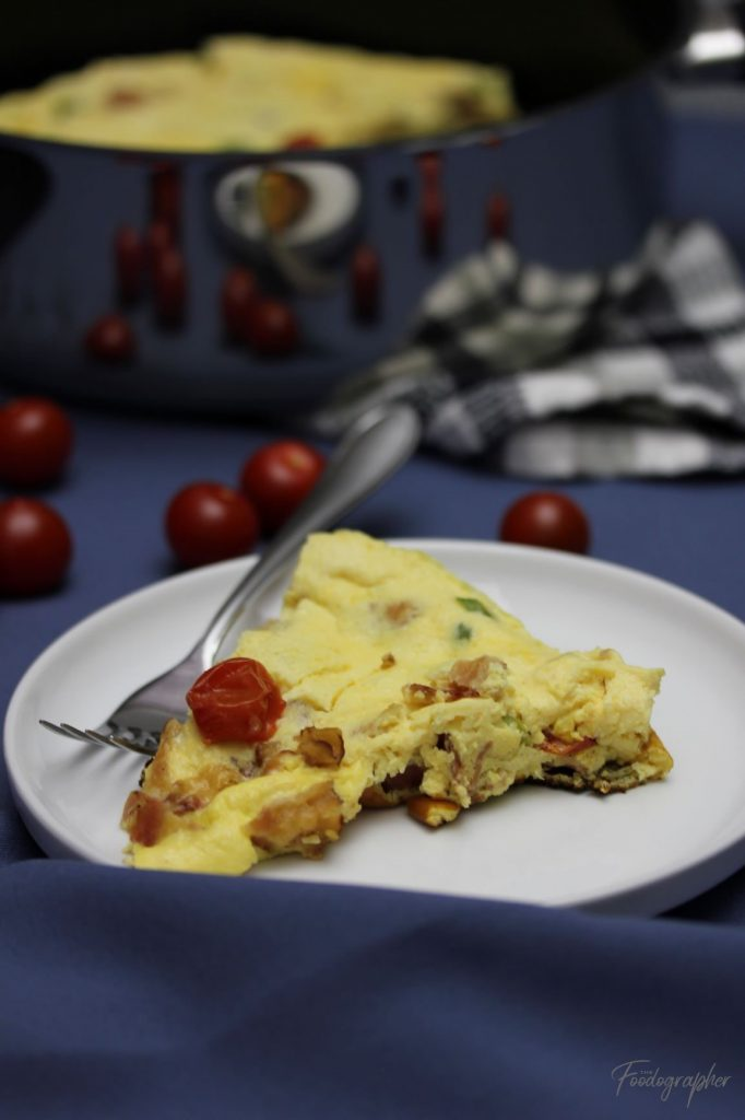 Bacon & Chive Frittata